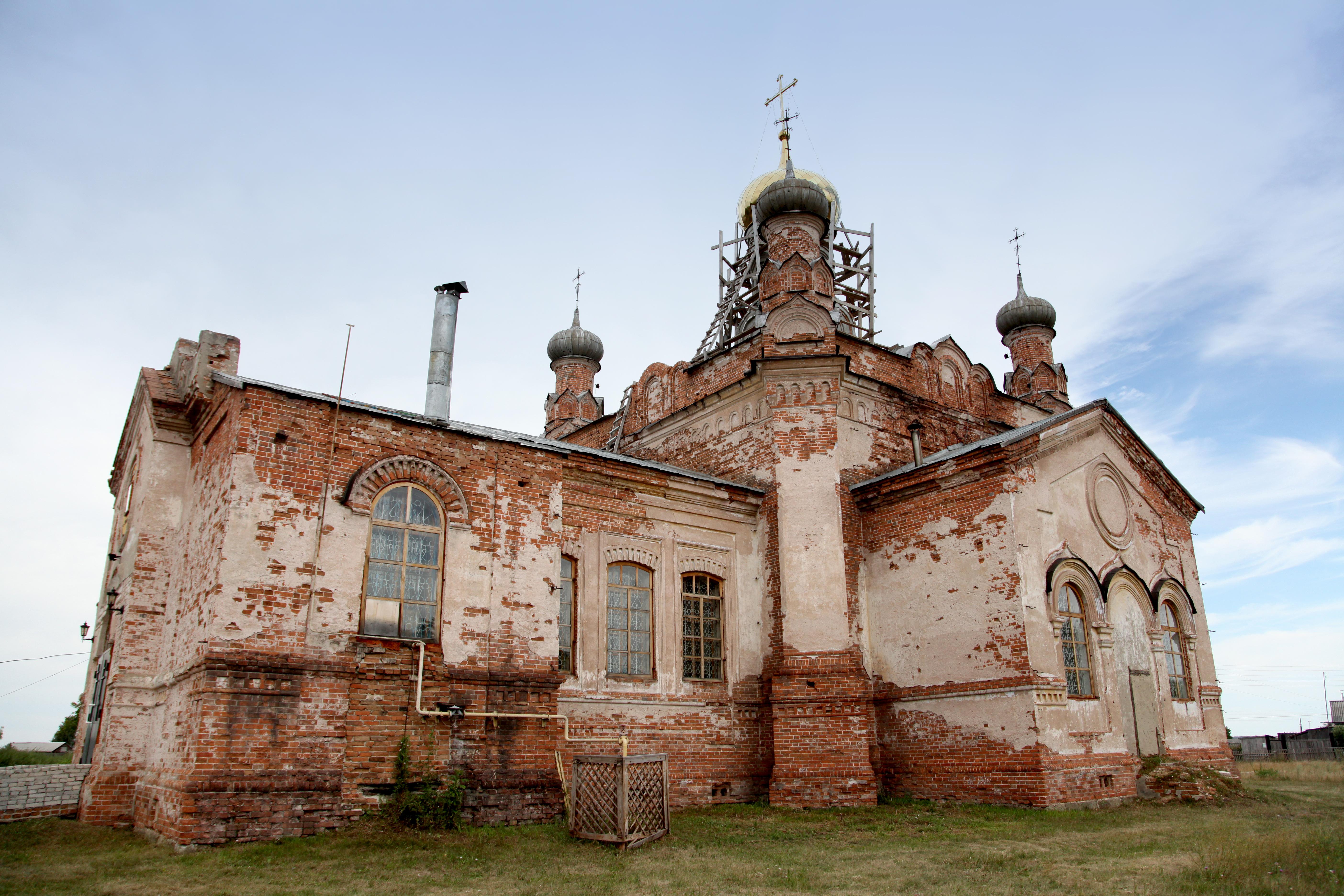 13 Церковь в Житниково Каргапольский район