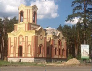Храм святого праведного Иоанна  Кранштадтского,   с. Кетово