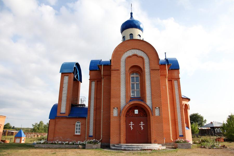 49 Церковь Маслянское Шадринский район
